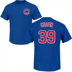 Men's Andrew Chafin Chicago Cubs Roster Name & Number T-Shirt - Royal