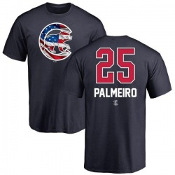 Youth Rafael Palmeiro Chicago Cubs Name and Number Banner Wave T-Shirt - Navy